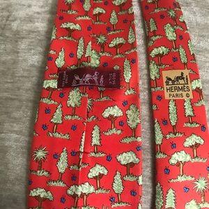Hermes Tie Design 7429